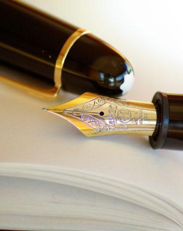 Een fijne pen om mee te werken